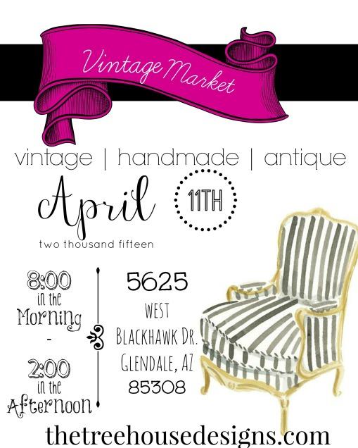 Vintage Market Flyer